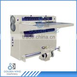 Semi Automatic Gang Slitter Tinplate cutting machine used for cut metal tinplate iron steel aluminum for soft drink tin can box