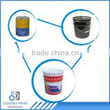 Best Selling Fully Automatic Chemical Paint Pail/Petrol Drum/Coatiing Pail Tin Can Pail Making Production Line