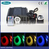 High power RGB color DMX 45W LED fiber optic light for ceiling star sky starry and pool perimeter light decoration