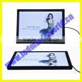 Cheap price paper advertising plastic led backlit panel