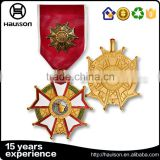 The ww2 german military vietnam commemorate souvenir memorial old high end antique matte gold pin style reward medal