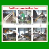 hot sale 1-1.5t/h organic fertilizer processing line