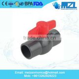 "PVC Ball Valve Threaded 1/2"" National Brand Alternative Ball Valves"