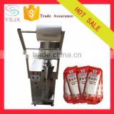 Cosmetic filling machine oil packing machine ketchup packing machine