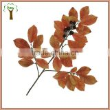 artificial chestnut tree branch with fruits