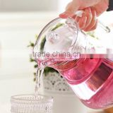 Hot selling good quality glass arabic cool water jug & drinking jug