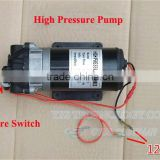 High pressure pumps DC18V 2.8L/min 7A Miniature diaphragm pump With pressure switch Spray Pump DC self-priming pump