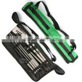 High quality best selling stainless steel golf bbq tool set