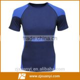 87% nylon +13% spandex high quality seamless compression gym shirt china wholesale sport mens wear