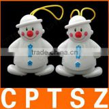 Electronic Twin Snowman Wireless Doorbell Baby Cry Detector
