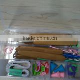 DIY Knitting Accessories Kit - Basic Tools plus Case Box Set