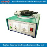 Manual Ultrasonic Plastic toothpaste Tube Seal Welding Machine with Cutting