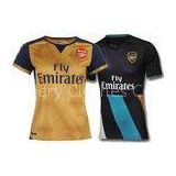 Puma Arsenal FC Away Womens Soccer Jerseys Navy Gold EPL Football Soccer Shirt