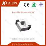 Choose BN-H11 PCBN Insert when use Cermaic insert machining bearings, and the ceramic insert chips?