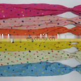 pretty flat girls' hair tie ribbon