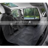 Pet Seat Cover With Zipper and Pocket Dog Seat Cover for Cars