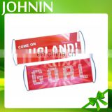 hot sale promotional customized size fan cheering scrolling banner