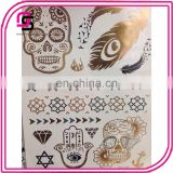 2015 custom temporary stickers new high quality flash tattoos
