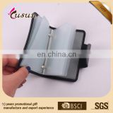 china leather suppliers promotional wholesale hard custom wallet business credit card holder