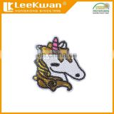 embrodery sequin unicorn patch, unicorn iron patch sticker embroidery, sequin unicorn sticker patch