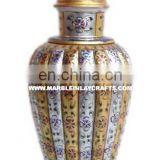 High Quality Marble Flower Pot