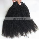 New arrive wholesale price mongolian kinky curly hair weave 4a