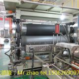 EVA automotive interior trim sheet extrusion line