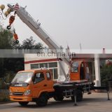 China 6.0ton small mobile cranes for sale