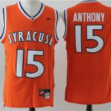 Syracuse Orange #15 Anthony Orange Jersey