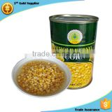 New Crop 400g Easy Open good taste Sweet Kernel Corn in Can                                                                         Quality Choice