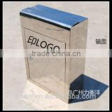 stainless steel apartment metal mailbox