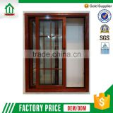 Aluminum Frame Tempered Glass Balcony Window Sliding Window