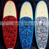 2016 HOT SELLING ! Super woodne grain SUP stand up paddle board/ stand up paddle board bamboo.