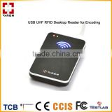 Smail Size UHF USB RFID Reader Writer with key board emulation
