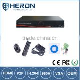 Factory Direct Low Cost cms free software CCTV H.264 Standalone DVR 1080N 4 IN 1 AHD/TVI DVR