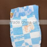 cheapest B grade baby diapers hook and loop tape