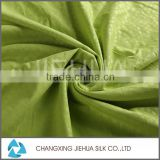Polyester satin embossed velvet fabric for making bed sheets