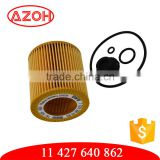 Made with Gemany paper original quality car oil filter element 11 427 640 862,11427640862 for BMW car engine