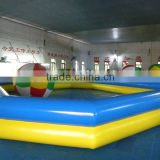 Good quality double tubes inflatable pool rental