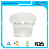 Hot sell 500ml plastic disposable food packaging boxes