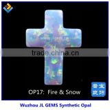 2015 New Products Wholesale Price Fire & Snow Cross Opal For Sale