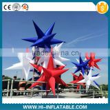 Newest discount event party supplies lighting inflatable star/club for wedding,festival decoration
