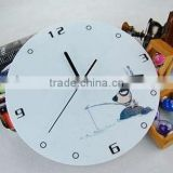 Large Round Acrylic Art Contemporary Wall Clocks