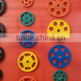 colourful rubber weight plate for olympic exercise TZ-3008