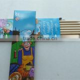 wood color pencil set