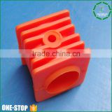 Custom made one stop polyurethane material molding plastic injection pu parts for all machines