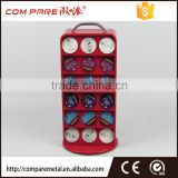 Red coffee pod display stand 36pcs caffitaly capsule holder