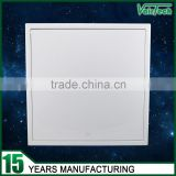 white powder coated galvanized steel drywall access panel