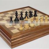 Attractive Deluxe Multi-functional Chess Backgammon Indoor Games For Kids Birthday Parties