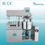 Alibaba China factory price water pot/oil pot/emulsifying pot/vacuum system etc vacuum emulsifier machine